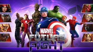 Marvel Future Fight (iOS/Android) Lets play Gameplay Walkthrough PART 1