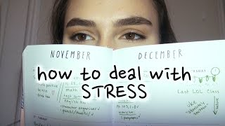 How To Deal With Stress // advice with sunny