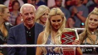 Official WWE Women's Championship presentation - WWE  Raw, April 4, 2016