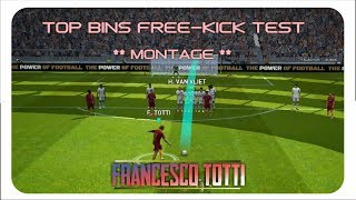 Legend Francesco Totti At Freekicks