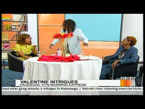 Valentine Intrigues talk with Eric Omondi