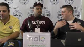 College Gridiron Showcase 2017: Nick James, DT, Mississippi State