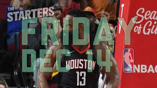 NBA Daily Show: Dec. 14 - The Starters