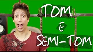 O que são Tom e Semi-Tom? (Teoria Musical) | Marino Scheid