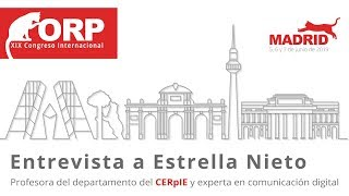 Entrevista A Estrella Nieto ➡️ PROFESORA DEL CERpIE Y EXPERTA EN COMUNICACIÓN DIGITAL