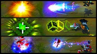 Final Boss Veigar vs Omega Squad vs Bad Santa Legendary vs Epic Skins Comparison (LoL)