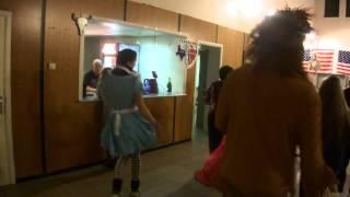 la dance de la jupe
