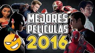 Mejores PELÍCULAS del 2016 | Top 10 Películas 2016 | #Mefe