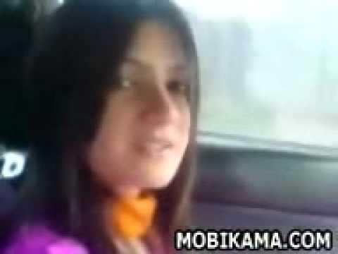 pakistani girl inside car