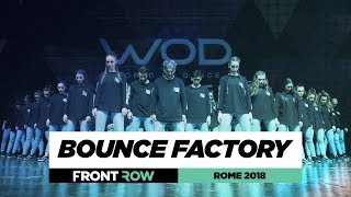 Bounce Factory | FrontRow | World of Dance Rome 2018 | WODIT18