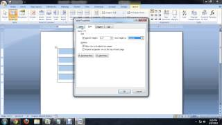 """How to Freeze a Table Frame Size in """"Word"""" : Tech Niche"""