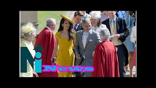 Hollywood celebrities that graced the royal wedding