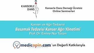 Basamak Tedavisi Kanser Ağrı Yönetimi - Prof. Dr. Emine Nur Tozan