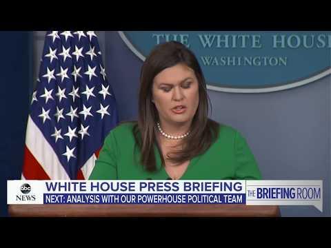 White House press briefing | ABC News