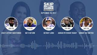 UNDISPUTED Audio Podcast (9.19.17) with Skip Bayless, Shannon Sharpe, Joy Taylor | UNDISPUTED