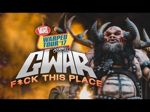 Xxx Mp4 GWAR Fuck This Place LIVE Vans Warped Tour 2017 3gp Sex