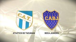 Atlético Tucumán vs. Boca. Fecha 7. Torneo de Primera División 2016/2017. FPT