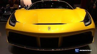 2017 Ferrari 488 GTB - Exterior Interior Walkaround - 2017 Geneva Motor Show