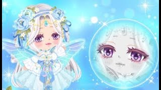 LINE Play - Pink Fairy Vegas Event Eyes (Fairy Queen Slot Event)