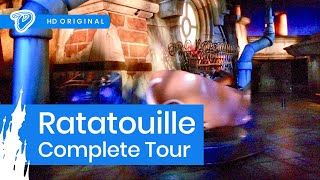 Disneyland Paris Ratatouille On-ride Complete Tour - L'Aventure Totalement Toquée de Rémy Onride POV