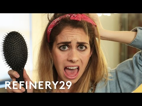 2 Weeks Of Not Washing My Hair Challenge   Try Living With Lucie   Refinery29