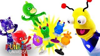 PJ Masks Gekko & Catboy Transforms to a Frog Toy!