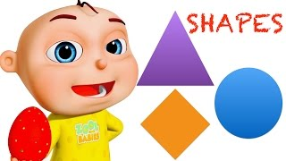 Learn Shapes | Five Little Babies Collection| Baby Rhymes & Preschool Videos