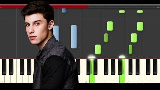 Shawn Mendes Something Big Piano midi tutorial sheet partitura cover