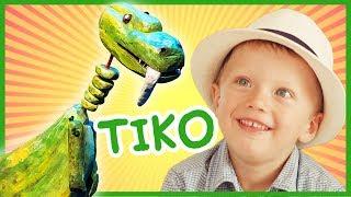 Otroška pesmica - Dinozaver Tiko (iz lutkovne predstave Dinozaver Tiko in veliki zob)