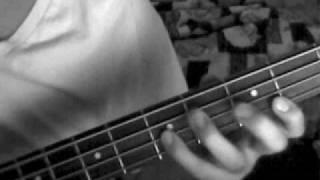 Bajo ejercicio ritmico Sol Bass G Pentatonica