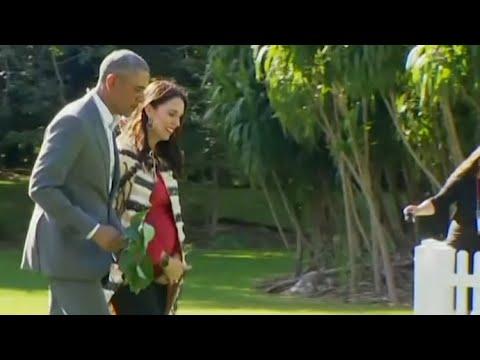 Xxx Mp4 I M A Political Nerd New Zealand PM Jacinda Ardern Thrilled At Meeting Barack Obama 3gp Sex
