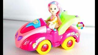 سيارة باربى الجديدة واجمل لعبة سيارات حقيقية للاطفال العاب بنات واولاد ومتعلقات العروسة باربى الدمية