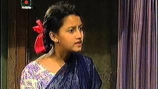 Nazia Choudhury in BTV Drama 'Manchitra' Part 3
