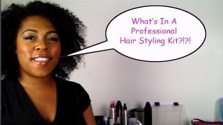 Tips From the Top: What's in a Professional Hair Stylist's Kit?