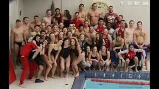 SUNY Cortland  Red Dragons Swimming & Diving v. Geneseo Nov. 14, 2015