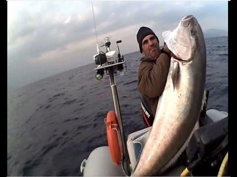 amderjack ΜΑΓΙΑΤΙΚΟ 46 kg sotos fishing.wmv