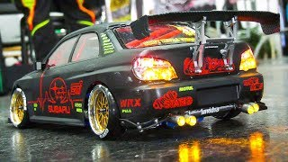 RC DRIFT RACE SCALE CARS IN DETAIL AND MOTION!! * REMOTE CONTROL DRIFT RACE CARS