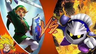 LINK vs META KNIGHT! Cartoon Fight Club Episode 86 REACTION!!!