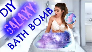 DIY: How To Make a GALAXY Bath Bomb!