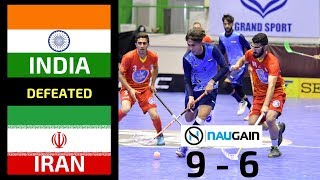 INDIA vs IRAN | AOFC ASIA CUP 2017 | FLOORBALL