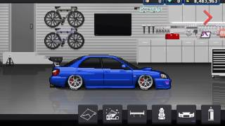 22 Million Dollar Subaru Impreza  Build [Pixel Car Racer]