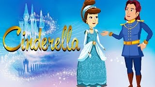 Cinderella Cartoon Full Movie | English Fairy Tales For Kids | Princess Fairy Tales