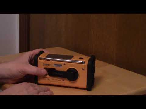 Sangean MMR 88 Emergency Weather Radio Review