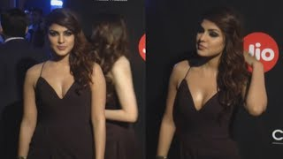 Hot Girl Rhea Chakraborty Showing Full Assets at The Red Carpet of GQ Best Dressed at Mumbai
