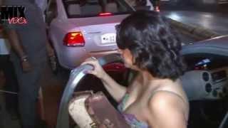 Sexy Cleavage Bhabhi at Nikhil Advani's Party