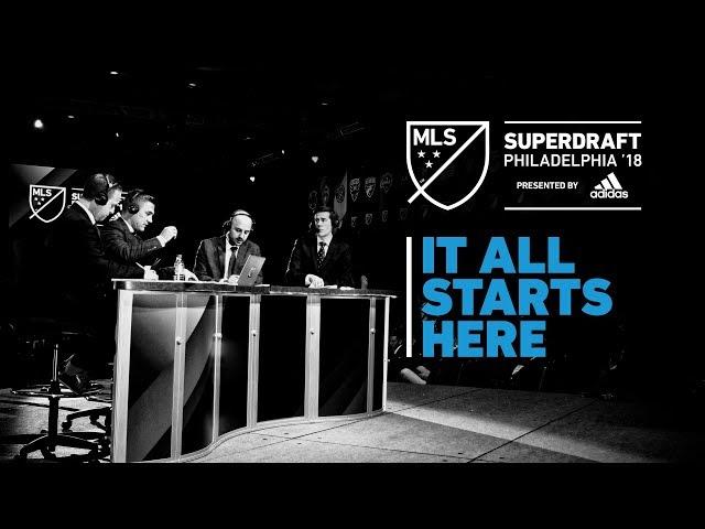 MLS SuperDraft 2018 presented by adidas