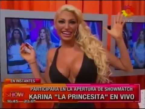Para el infarto el provocador look de Vicky Xipolitakis en Este es el show ¡sin ropa interior