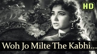 Woh Jo Milte The Kabhi - Meena Kumari - Akeli Mat Jaiyo - Old Lata Mangeshkar hits - Ghazal
