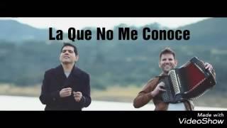 La Que No Me Conoce - Peter Manjarrés & Juancho De La Espriella