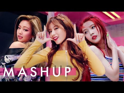 Twice X Blackpink X Red Velvet Likey As If It S Your Last Red Flavor Likey 마지막처럼 빨간 맛 Mashup